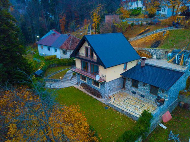 Villa moderne dhe luksoze ne Mavrovë, Maqedoni-te liqeni i Mavrovës