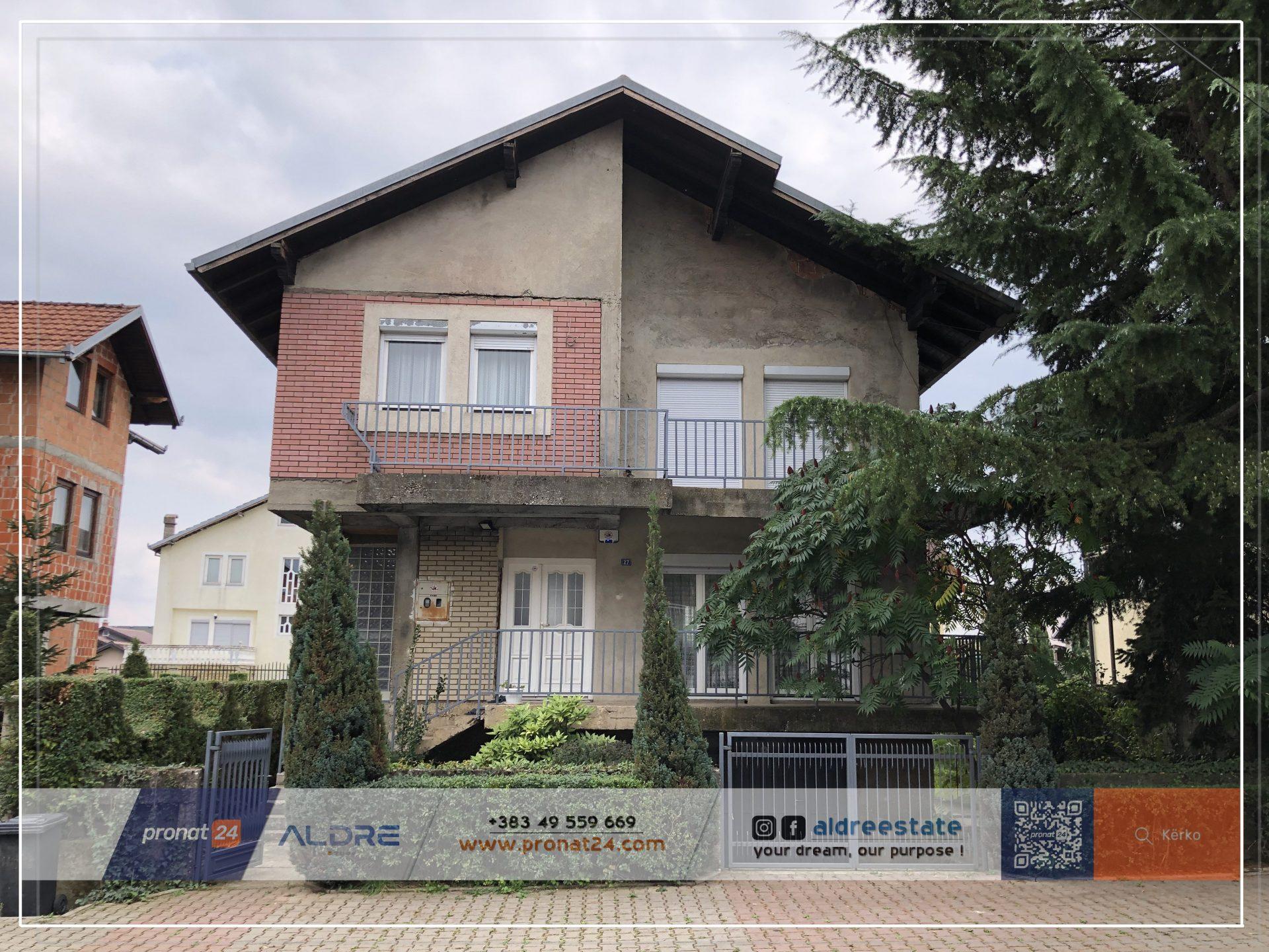 Shitet shtëpia me 4.5 ari në lagjen Dardania 1 në Pejë