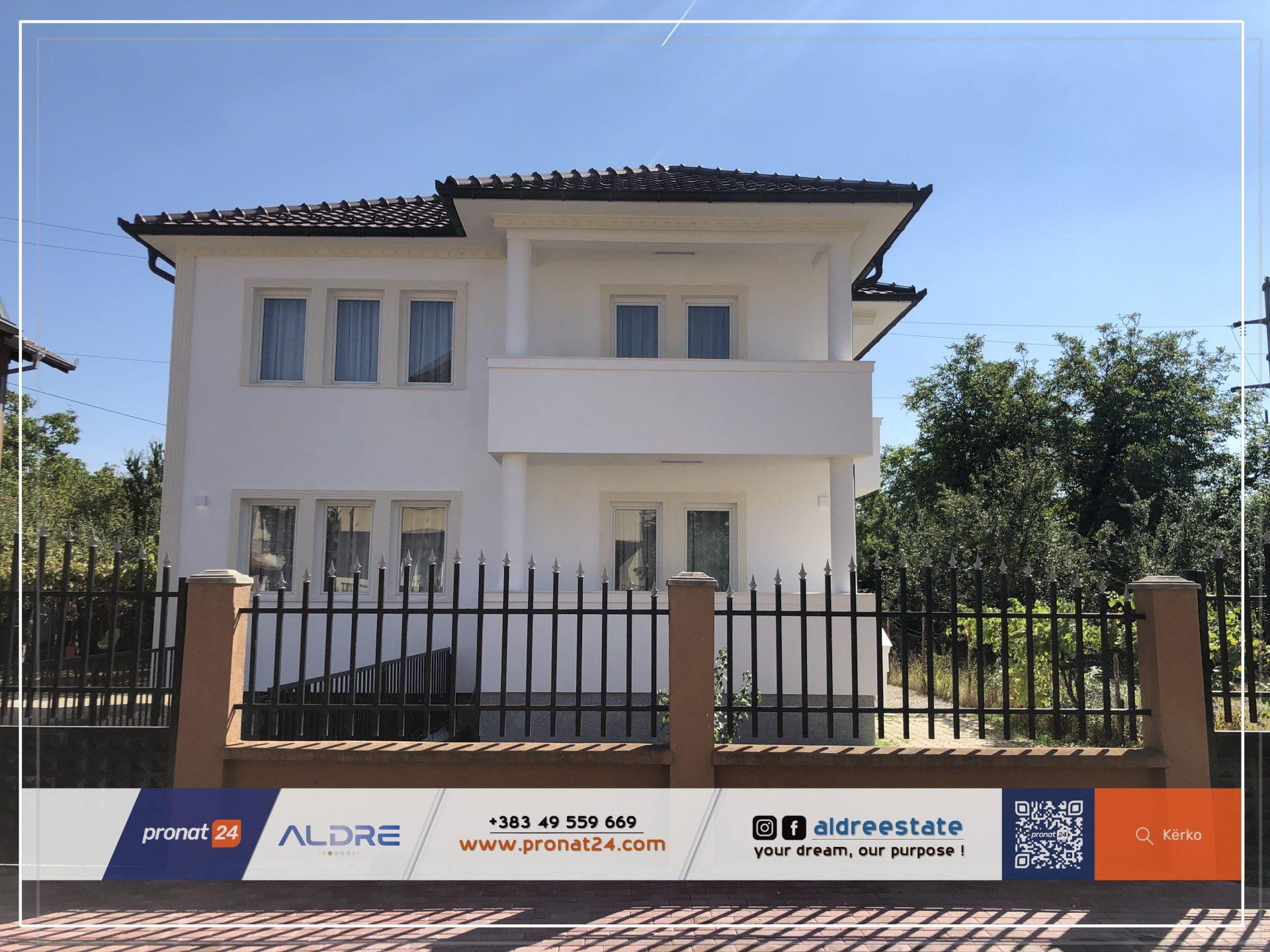 Shitet shtëpia e sapo përfunduar në lagjen Fidanishte në Pejë