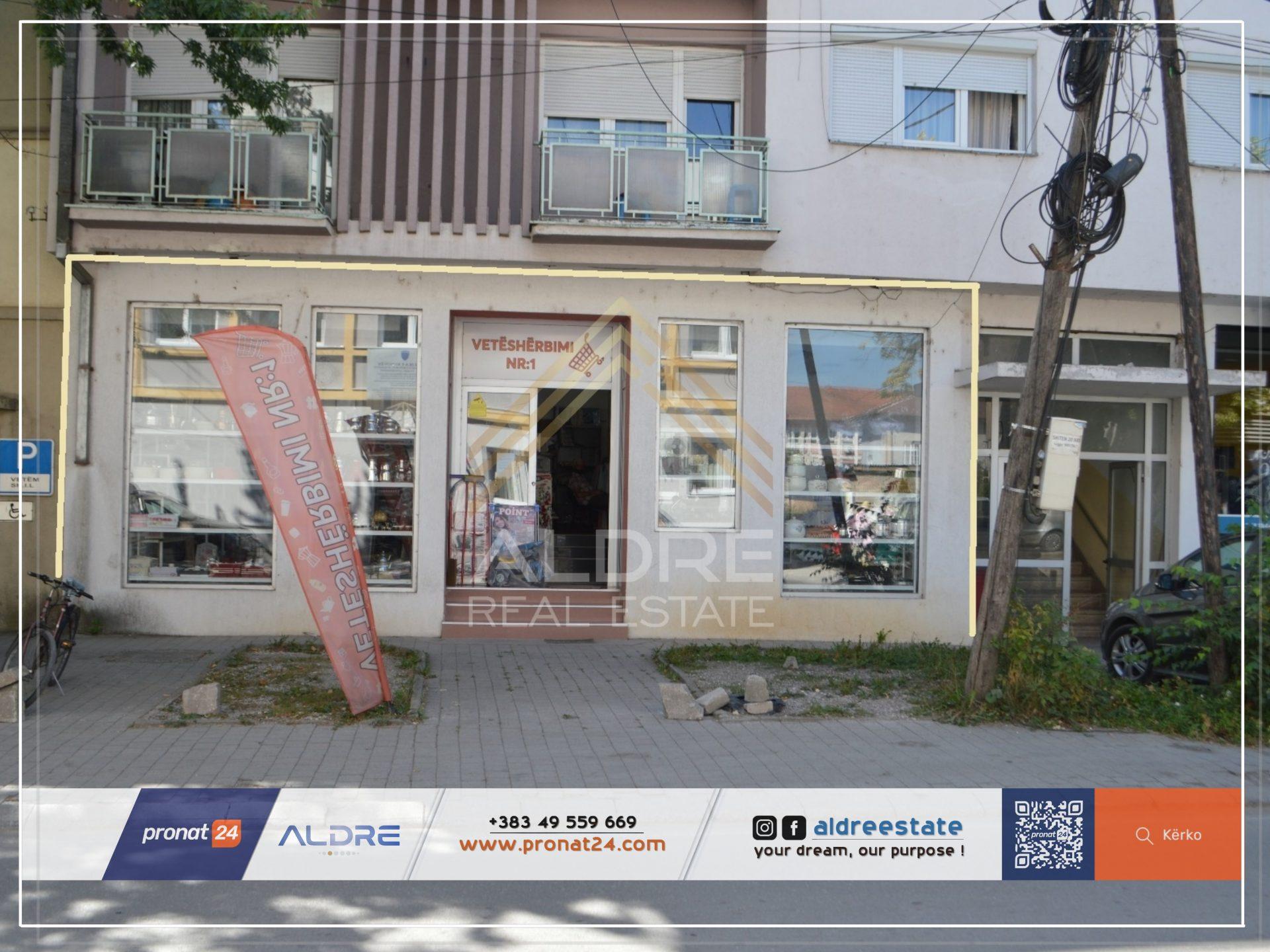 Shitet Lokali 97m² në qender të Pejës